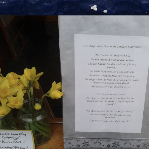 mothers day message walding son funeral directors uxbridge